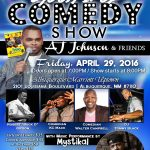 Laugh It Up Comedy Show: Aj Johnson and Friends