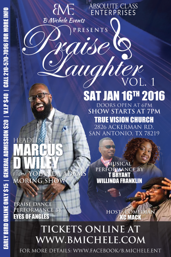 Praise & Laughter Vol. 1