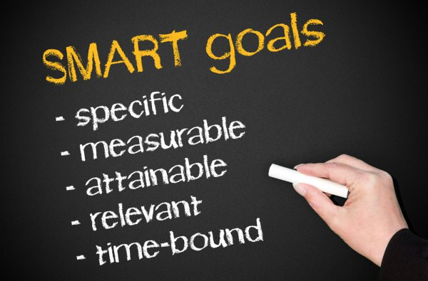 Using SMART Goals to plan an event