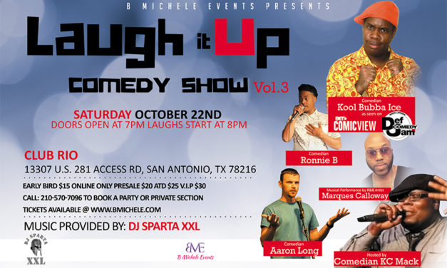 Laugh It Up Comedy Show Vol. 3