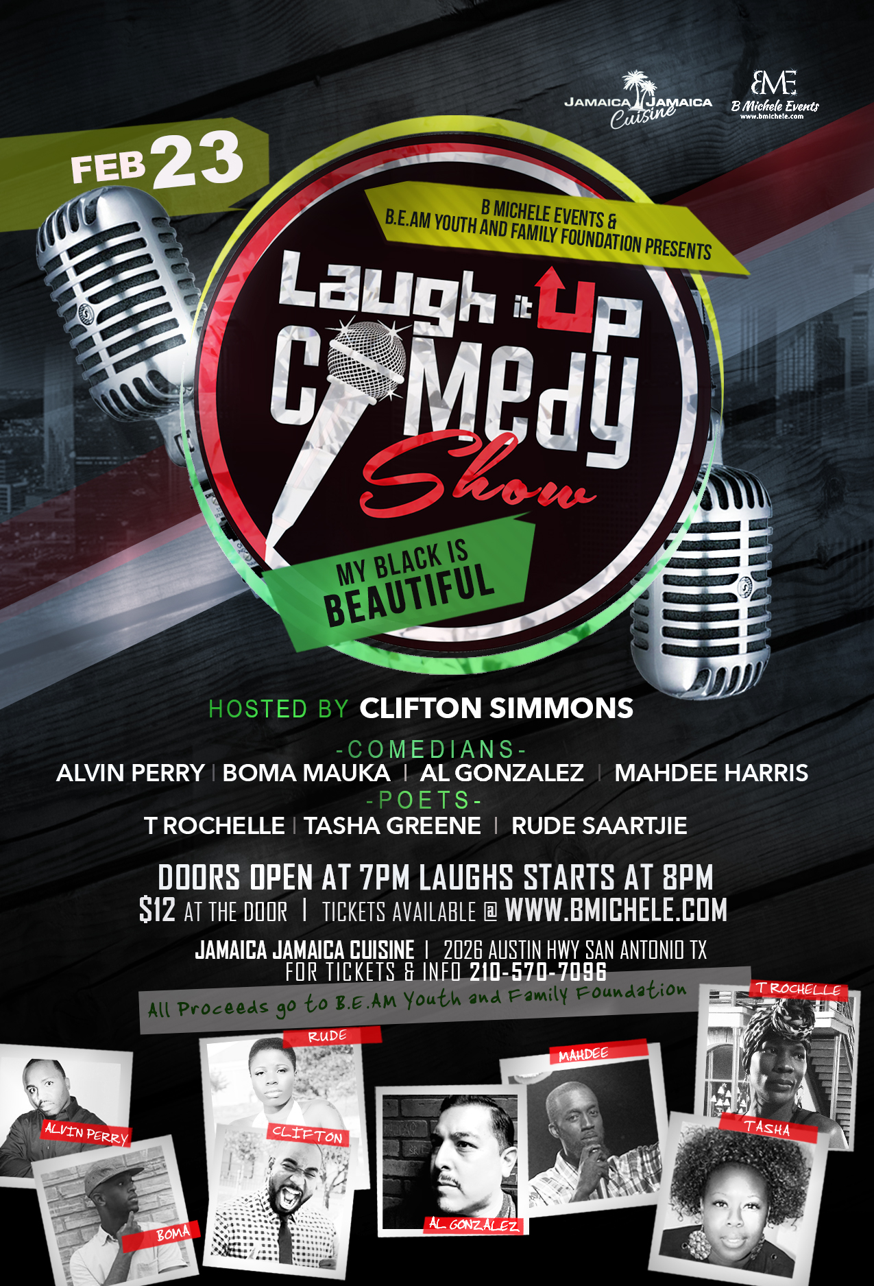 Laugh It Up Comedy Show: My Black is Beautiful